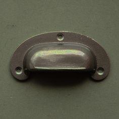 Plain Cast Iron Drawer Pulls #cabinetpulls #cabinethandles