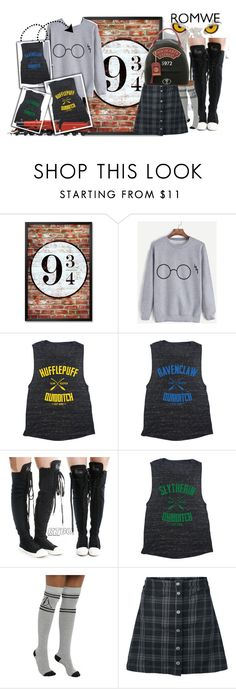 """Harriet Potter"" by styleonapinch on Polyvore featuring Warner Bros."