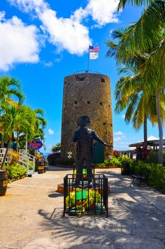 Blackbeard's Tower, St. Thomas.  Go to www.YourTravelVideos.com or just click on photo for home videos and much more on sites like this.