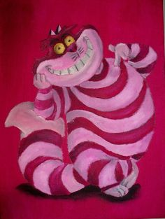 Cheshire Cat by Billy Wallwork [©2013]