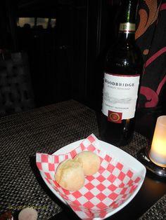 Wine and bread on cruise ship Norwegian Breakaway