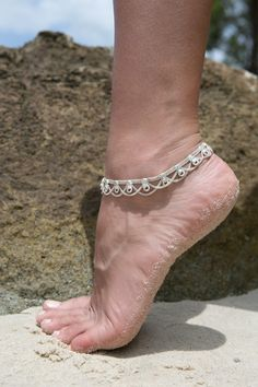 Traditional Indian Anklet from HindiIndie.com