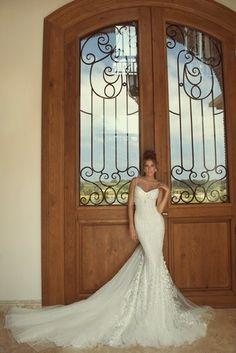 Galia Lahav 2013 Empress Wedding Collection | Confetti Daydreams - Romantica Galia Lahav lace Zoe wedding dress embellished with crystals and luscious tulle ♥
