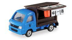 Tomy Tomica truck Subaru Sambar Ramen Shop