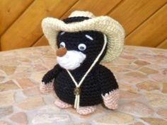 Häkelanleitung - Cowboy Maulwurf häkeln bei Makerist