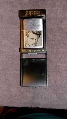 "Free: ★ ""James Dean"" Zippo Lighter ★ - Other Collectibles Custom Lighters, Cool Lighters, Zippo Collection, Zippo Lighter, James Dean, Hand Warmers, Vintage, Cases, Unique"