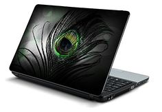 This is the universal laptop decal, size 15 x 10 (inch), you will get the full size sticking decal, so you need to cut out the decal for your laptop size. No sides we prefer to apply, it will only stick to the flat surface no curves or bend are friendly to this skin. Laptop Decal, Vinyl Decals, Feather, Gadgets, How To Apply, Curves, Surface, Accessories, Flat