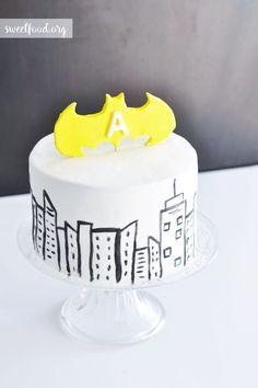 Superheroe cake