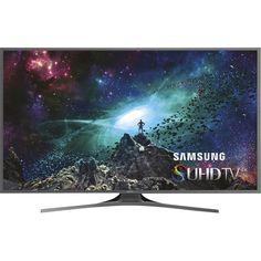 "Samsung - 55"" Class (54.6"" Diag.) - LED - 2160p - Smart - 4K Ultra HD TV - Black - Front Zoom"