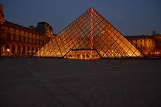Louvre by night.