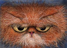Cat Art by Tamsin Lord