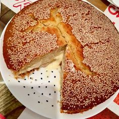 Bizcocho de mamá - receta turca Apple Pie, Ethnic Recipes, Desserts, Oriental, Foods, Gastronomia, Turkish Cuisine, Turkish Food Recipes, Turkish Recipes