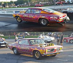 Mostly Mopar Muscle: Photo Plymouth Muscle Cars, Dodge Muscle Cars, Dodge Hemi, Dodge Dart, Nhra Pro Stock, Nhra Drag Racing, Old Motorcycles, Plymouth Barracuda, Vintage Race Car