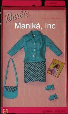 """Fashion Avenue """"Charm Country Club Lunch"""" Fashion for Barbie by Mattel 1999   eBay"""