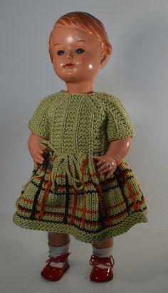 Vintage Puppen - Celluloid Puppe - ein Designerstück von KrimskramsVintage bei DaWanda