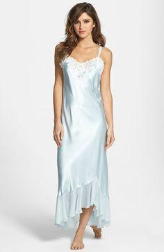 Oscar de la Renta Sleepwear  Evening Bliss  Satin Charmeuse Nightgown  5052ab279