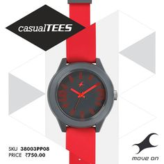 Play up the victim with one of the #CasualTEES watches! http://fastrack.in/casualtees/