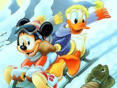 Mickey and donald | Fondos de Pantalla de Donald y Mickey