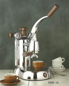 "Espresso Outlet – La Pavoni ""Stradivari"" 16 cup Professional Lever Espresso Machine, PSW-16, $1,299.00 (www.espressooutle…)"