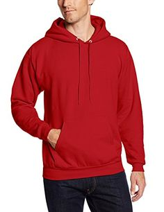 Hanes Men's Pullover EcoSmart Fleece Hooded Sweatshirt Why fuss with a zipper? Just pull this medium weight fleece hoodie. Navy Hoodie, Fleece Hoodie, Hooded Sweatshirts, Mens Pullover, Hoody, Expensive Clothes, Bleu Marine, Casual, Active Wear