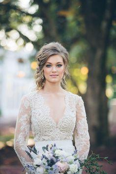 long sleeve wedding dress 19