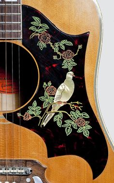 Gibson Dove Acoustic Guitar <3 freaking beautiful. I need to get me one like this!! I have one like this :-)