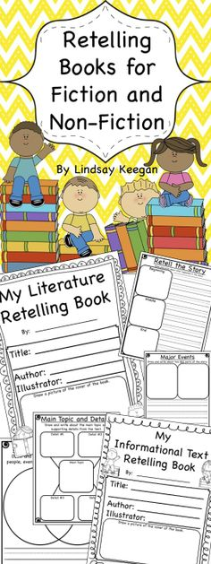 Literature and Informational Text Retelling Books