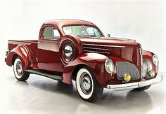 1939 Studebaker Coupe L5 Pickup