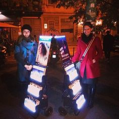 Jehovah's Happy People letting their light shine in Italian. See why at JW.org. Webstagram photos via @jw_witnesses. #literature_cart
