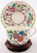 Royal Worcester Kashmir Cup and Saucer from Antik Avenue on Ruby Lane
