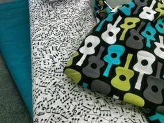 Nursery fabric for my songbird