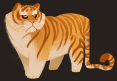 Tiger Sketches by Heather Nesheim (Daily Cat Drawings) Character Design Animation, Character Design References, Character Art, Character Illustration, Illustration Art, Illustrations, Cat Drawing, Character Design Inspiration, Creature Design