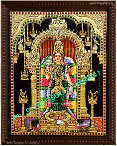 Tanjore Painting using 22 carat original gold foil and embossing, semi precious stone and chettinad teak wood frame. Krishna, Balaji, Durga and more. Mysore Painting, Tanjore Painting, Teal Wallpaper Android, Online Art Store, Lord Ganesha Paintings, Indian Artwork, Diy Art Projects, Painted Leaves, God Pictures