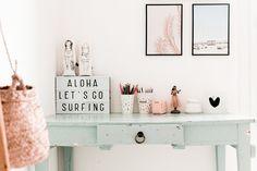 Boho Surfer Bedroom Makeover For Teen Girl