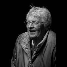 Happy Granny  #portrait #shooting #grandma #blackandwhite #monochrome #silver #softbox #niftyfifty #canondeutschland #canon #chickster #500px #tumblr #photographer #berlin #fun #laugh #happy #smile #model #woman #people #singlelight #retire #tfp #softbox #human #lowkey