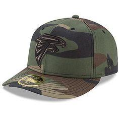 Men s Atlanta Falcons New Era Woodland Camo Low Profile 59FIFTY Fitted Hat 4e6d0860a