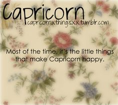 Capricorn & the Signs