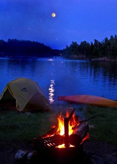 Camp out at Voyageurs National Park!