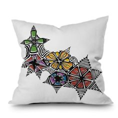 Find it at the Foundary - Karen Harris Blossomed Throw Pillow