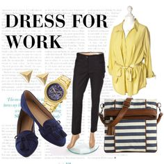 """""""Dress for work"""" by wzorcownia"""