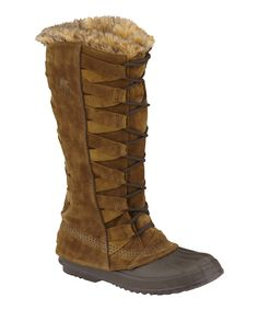 Take a look at this Autumn Bronze & Bark Cate of Alexandria Duck Boot - Women on zulily today!