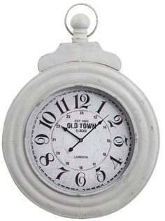 imagine this oversized clock 26w x 36 h in your home because blank wall clock frei