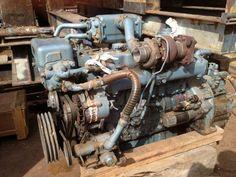 Old engine ISUZU after 20 years