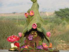 Gefilzte Waldorf inspiriert Forest Fairy Haus von Made4uByMagic