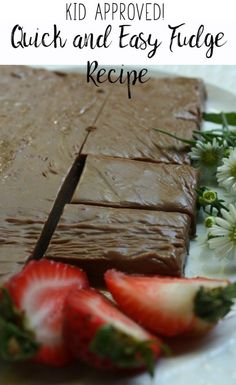 Quick and Easy Fudge Recipe