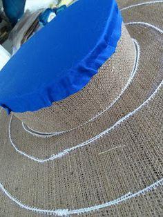 La Retourneuse de Temps: Tutoriel chapeau Belle Epoque/ Edwardien