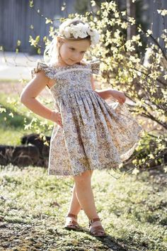 Isobel Dress and Top Baby Dress Patterns, Skirt Patterns, Coat Patterns, Blouse Patterns, Clothes Patterns, Sewing Patterns, Baby Girl Dresses, Flower Girl Dresses, Toddler Fashion