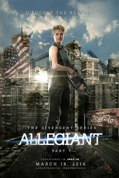 Allegiant so excited for this movie!!! Hopefully it'll be better then the book!