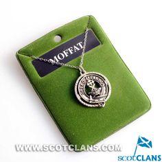 Moffat Clan Crest Pendant