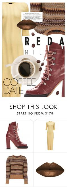 """Coffee Date"" by cultofsharon ❤ liked on Polyvore featuring Joseph, Marc Jacobs and LASplash"